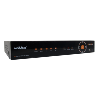 AHD видеорегистратор Novus NHDR-3108AHD