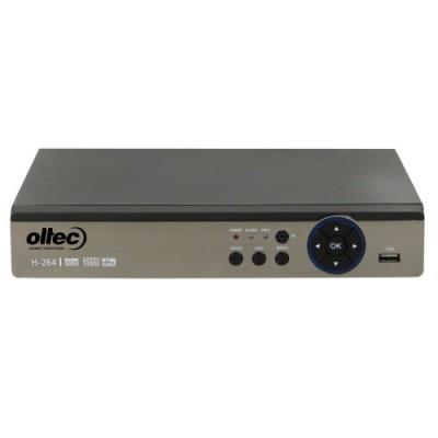 Гибридный 8-канальный видеорегистратор Oltec AHD-DVR-8808