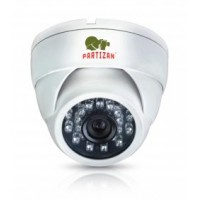 Купольная 2.0MP AHD камера Partizan CDM-223S-IR FullHD Metal