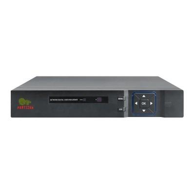 24 канальный IP видеорегистратор Partizan NVH-852 2.0